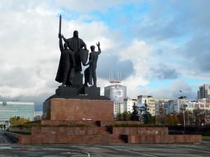 Памятник «Единство фронта и тыла»